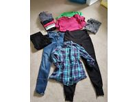 Maternity casual clothes bundle, size 10-12
