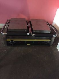 BUFFALO Double Contact Grill. Never Been Used. RRP £250