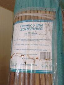 Bamboo Screening