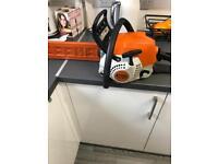 Stihl chainsaw ms181c