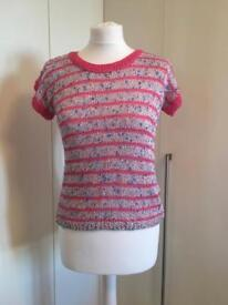 Knit Short Sleeve Top size 8/10