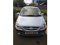 Hyundai Getz 07', Low mileage, well maintained, MOT done