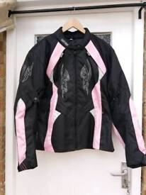 Ladies Rayven motorcycle jacket