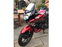 2014 Honda cbf 125 for sale. Very low mileage, perfect first bike