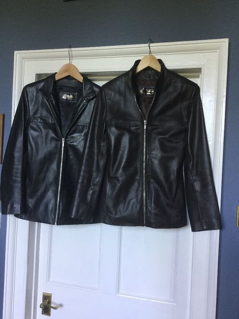 One black and one brown leather jacketsin Leominster, HerefordshireGumtree - One black and one brown zipped leather jackets from Higgs Leathers. Perfect inside and out. Size 6/8 small Each priced at £50