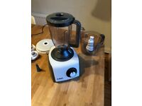 Bosch 1000W Food Processor/Blender (multiple accessories, perfect condition)