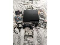 PlayStation 3 Slim PS3 Console 320GB + 5 Games