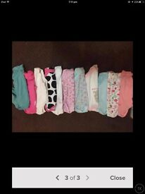 Baby girl clothing bundle 0-3 months and 3-6 months