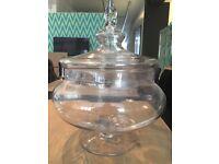Oversized Glass Jar Ornament
