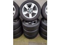 Bmw Genuine Alloy Wheels Run Flat Tyres 16'' Can Sell Singles Can Post Part Exchange welcome