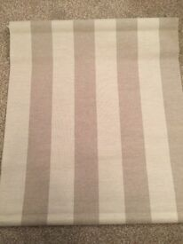 John Lewis Croft Collection Daylight Albury Stripe Blind 122cm RRP £60