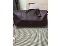 Duffle bag mulberry men's gym bag holdall weekend bag