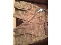 Camouflage Shorts XL Unused