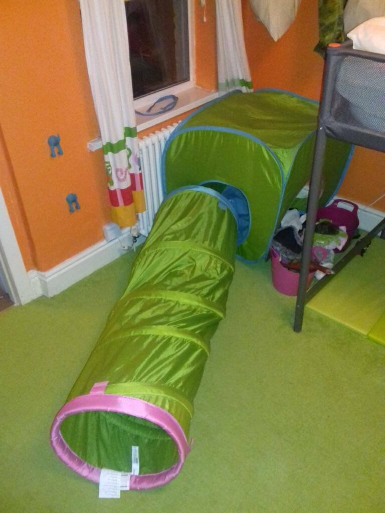 IKEA BUSA PLAY TENT & TUNNEL