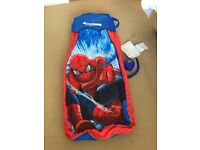 Spiderman ReadyBed Airbed - as new