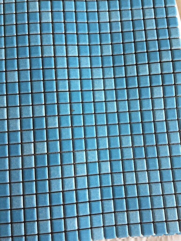 Fired Earth Blue Mosaic Tiles (sheet)   in Gloucester ...