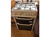White beko gas cooker 60 mm