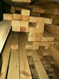 3x2 Planed (45mm x 70mm) 4.5mtr Lengths