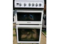 Hotpoint 50cm gas cooker delivered to your kitchen