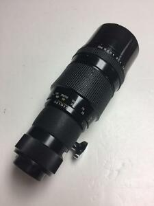 Pentax 300mm f4 Takumar M42 screw mount lens with 90 days warranty