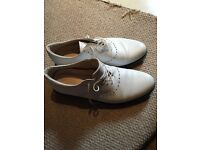Ecco Golf shoes- classic white size 11