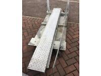 Galvanised decking plate 2000x200x5 xTEN
