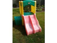 Little Tikes Plastic climbing frame and slide