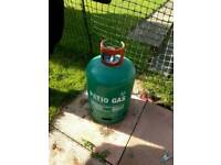 1/4 full calor patio / bbq gas bottle