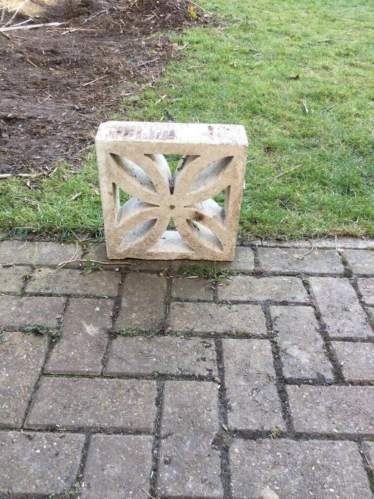 Decorative garden wall blocks | in Hartlepool, County Durham | Gumtree
