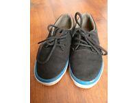 Kids Quiksilver Canvas lace up shoes 11.5