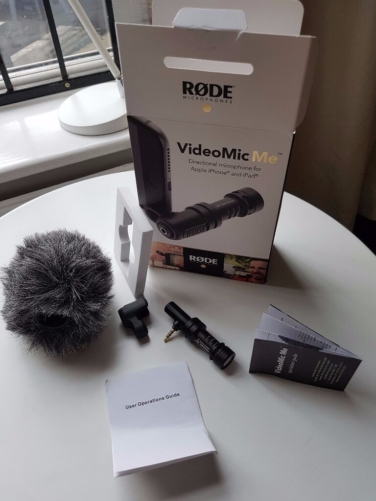 Rode Videomic Me High Quality Directional Microphone For Apple Iphone And Ipad