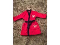 M&S Arsenal Fleece dressing gown