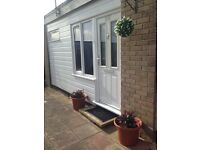Holiday rental in Hemsby, 2 bedroom chalet