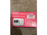 Drayton 7 day programmable thermostat