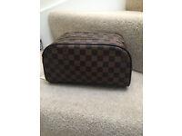 Louis Vuitton Toiletery Bag Leather