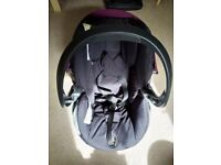 Stokke car seat and isofix