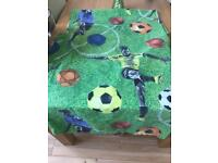 Next Boys football bedding & accessories