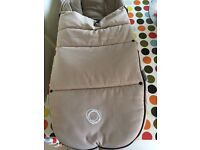 Bugaboo winter foot muff sand - rarely used very good condition smoke free pet free home.