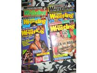 WRESTLING MAGAZINES X 6 FROM 1996 INSIDE WRESTLING have others for sale