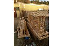 Wooden pallets free for uplift