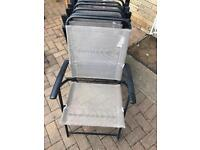 Patio Folding Chairs x6. Very good condition. Can deliver