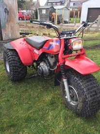 Honda atc trike quad 200s