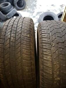 4 Used P265/70/16 Goodyear Wrangler AS
