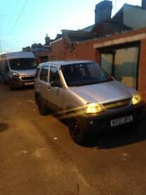 Daihatsu terios 4x4 1.3 75k 6 months test 2 owners from new