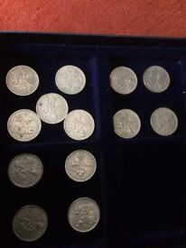 Coins 12 UK. Special Sixpences 1955-1956