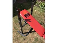 Weight Bench Red Pro Power - good condition