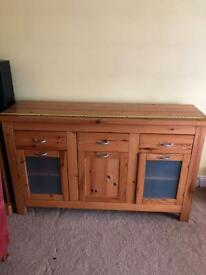 Sideboard / storage unit pine