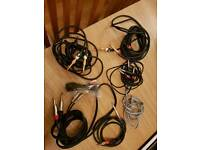 Jack and phono cable bundle