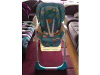 Chicco Polly 2 in 1 highchair 'sea dreams'