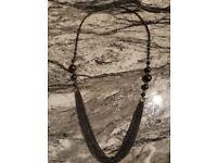 Black Costume Jewellery Necklace